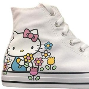 Converse Shoes - NEW Converse Hello Kitty Fashion Sneaker